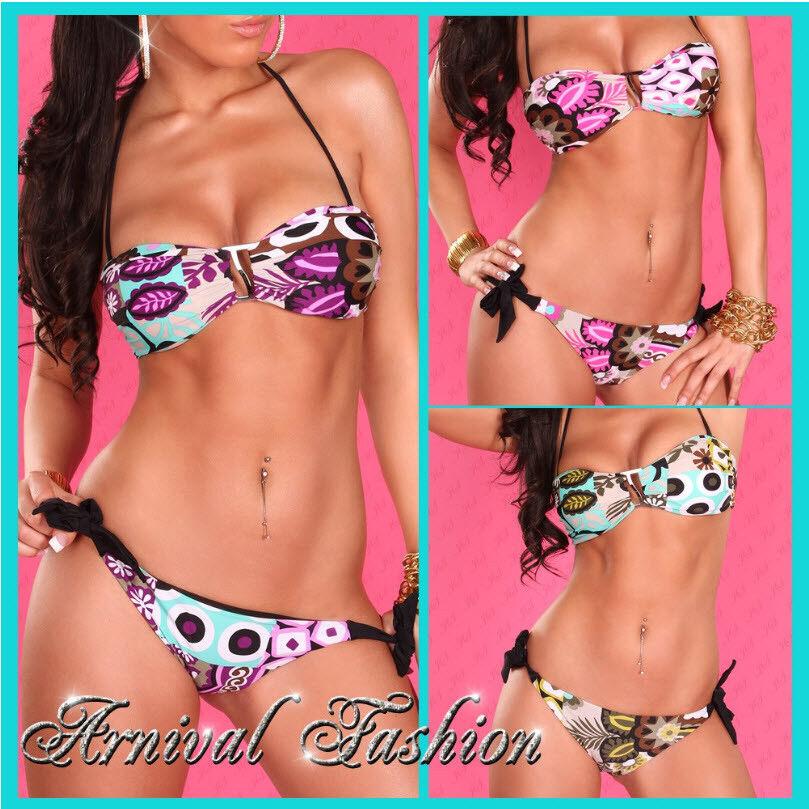 SEXY PUSH UP BIKINI SET SWIMWEAR padded swimsuit women BEACH bathing suit 2pcs
