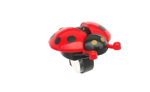 Many Bells Funny Fun Red Lady Bird Bicycle Bike Cycling Bell Children Child Kids