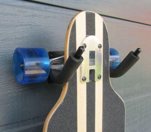 """Longboard supporto nero supporto a parete longboardhalter /""""Qualità Top/"""" 43061"""