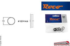 ROCO 40070 - H0 1:87 - Set 10 anelli aderenza ricambio gommini ruote 12,9/14,6mm