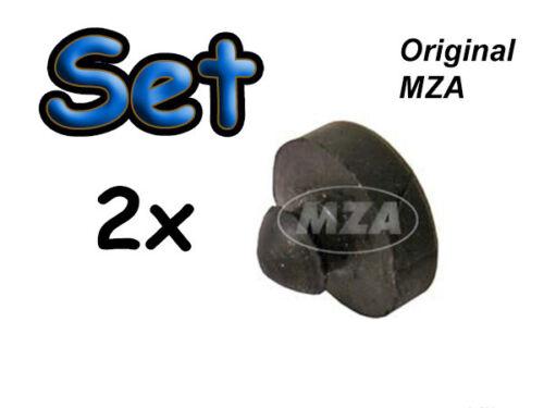 Simson SET 2x Gummipuffer zur Gabel bei SR1 SR2E KR50 MOFA MOPED MOKICK TOP NEU