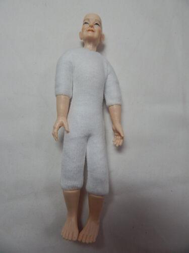 "Xmas Heidi Ott  Dollhouse Miniature 1:12 Scale Nude Lady No Wig  5.4/"" #XKF07"