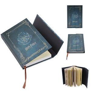 Harry-Potter-Vintage-Notizbuch-Notiz-Tagebuch-Planer-Buch-Memobuch-Geschenk