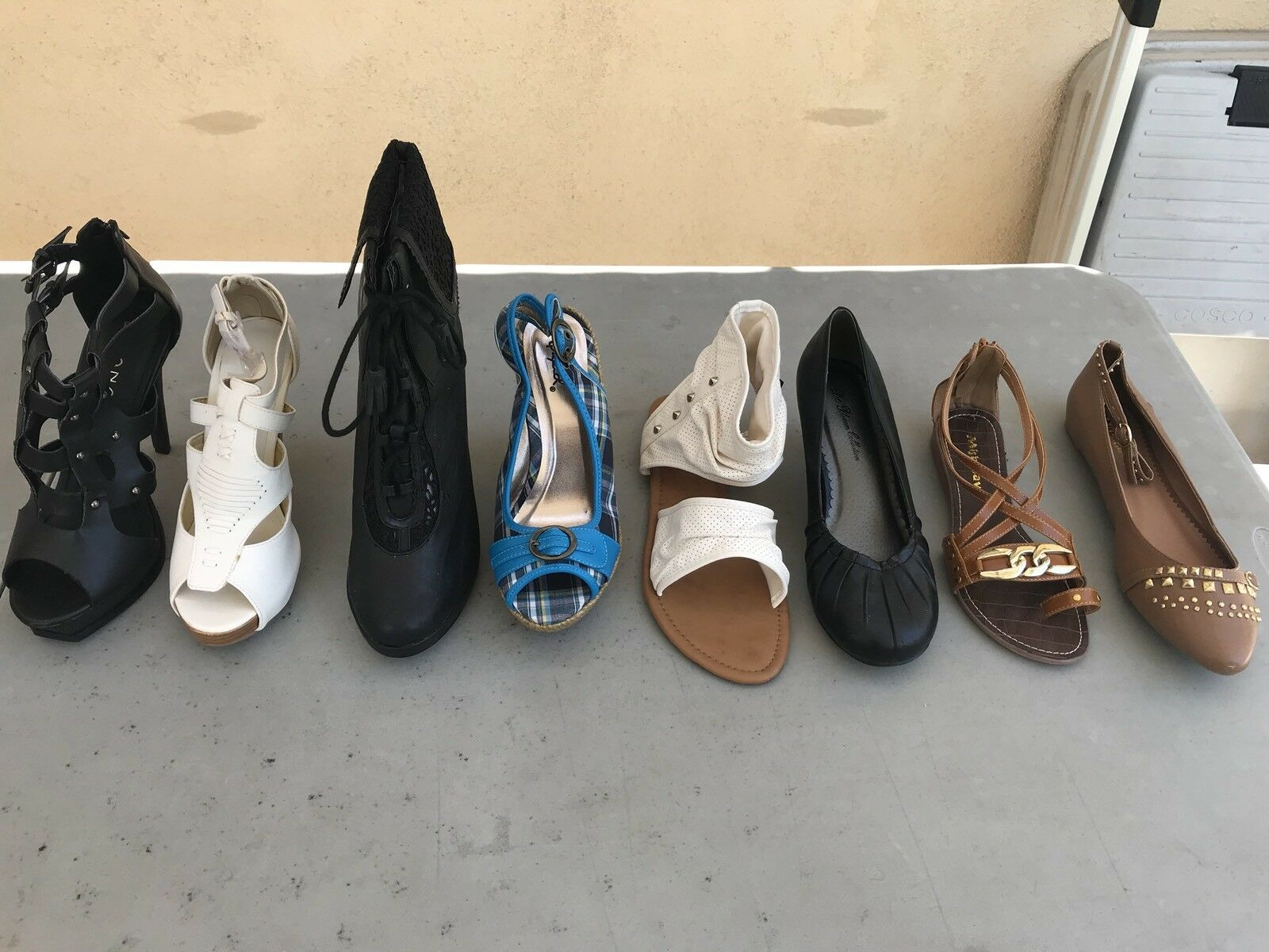 boots Wholesale Lot heels slippers sandals flats New 25 pairs women's shoes