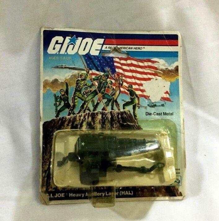 1983 Hasbro GI Joe ARAH Diecast HAL Heavy Artillery Laser MOC Carded Sealed RARE