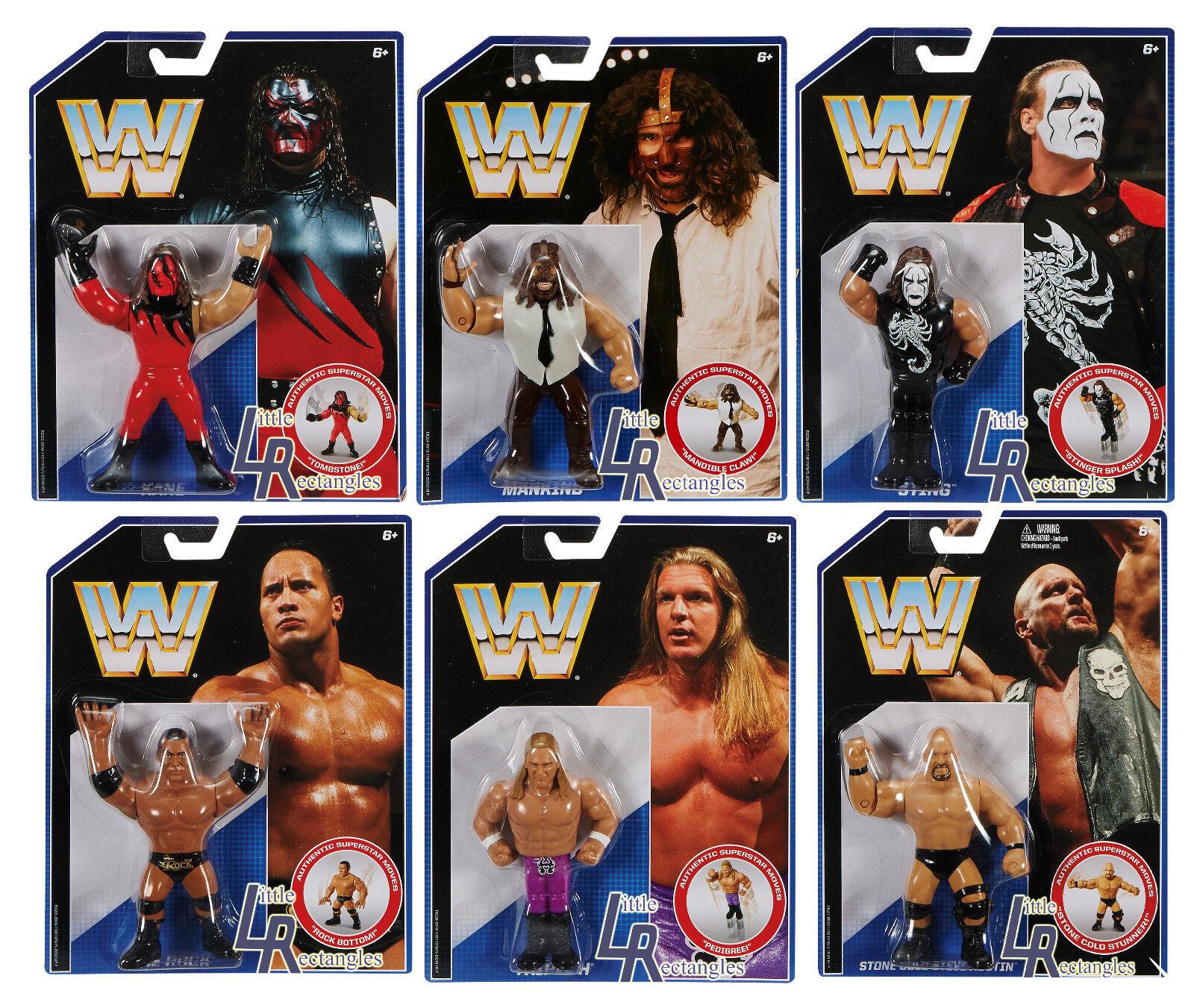 WWE Figures - Retro Series 2 - Mattel - Brand New - Sealed