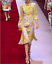 2018-Occident-spring-runway-Womens-Floral-chicken-printed-long-Cocktail-dresses thumbnail 1