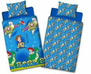 Toy Story Friends Single Duvet Quilt Cover Reversible Bedding Set Ebay