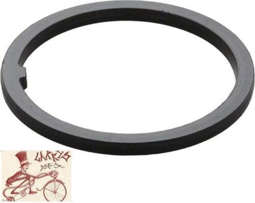 """AHEADSET BLACK BMX-MTB KEYED WASHER FOR 1-1//8/"""" BICYCLE HEADSET"""