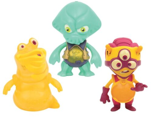 Exogini Triple Figurine Pack-Light Up Alien Figures NEW
