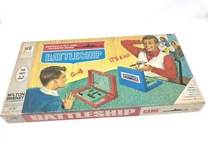 Battleship-Board-Game-Milton-Bradley-1967-Vintage-Complete-4730-Strategy-Family