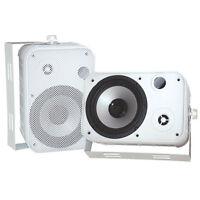 Pyle Pdwr50w 6.5 Indoor/outdoor Waterproof Speaker Pr White on sale