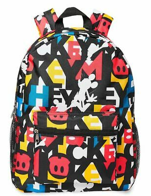 Disney Parks Mickey Mouse Abstract Design Backpack New with Tags