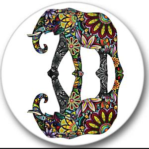 Funny Elephant Sticker Seals No.6 africa animal stickers,12 round stickers