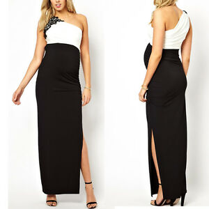 Maternity-Evening-Elegant-party-dress-Maxi-wedding-NEW-Size-8-10-12-14-16-UK