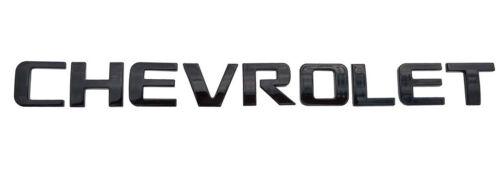 1x Black Chevrolet Nameplate Emblems  Letter 2500 HD fot Sierra SILVERADO