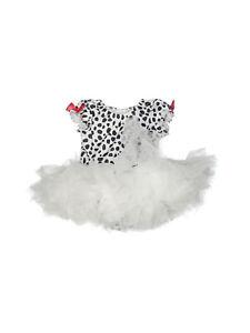Girl Gymboree Dog dalmatian Dalmation Costume Dress Tutu Size 6-12 Months