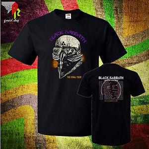 new black sabbath mens t shirt end tour 2016 metal legend band size s to 4xlt. Black Bedroom Furniture Sets. Home Design Ideas