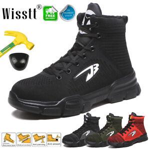 Men's Safety Light Work Shoes Steel Toe