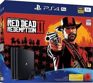 PLAYSTATION-4-Pro-ps4-Pro-1-TB-4k-Bundle-incl-Red-Dead-Redemption-2