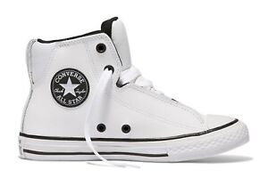 385d5afd684c Converse Big Kids  ALL STAR LEGIT LEATHER High Top Shoes White ...