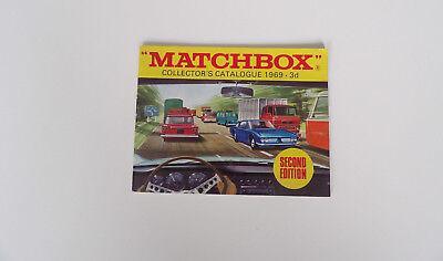 Verantwortlich Matchbox Series 1969 International Pocket Catalogue Zweite Aufl.(mit Einträgen) Warm Und Winddicht