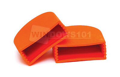 Safety Ladder Caps (Pair) Ladder Covers - Safe Stabilize Protect