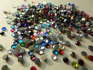 500 Hotfix Strasssteine, *freie Farbwahl* , SS10 ~ 2,8-3mm, Super Qualität