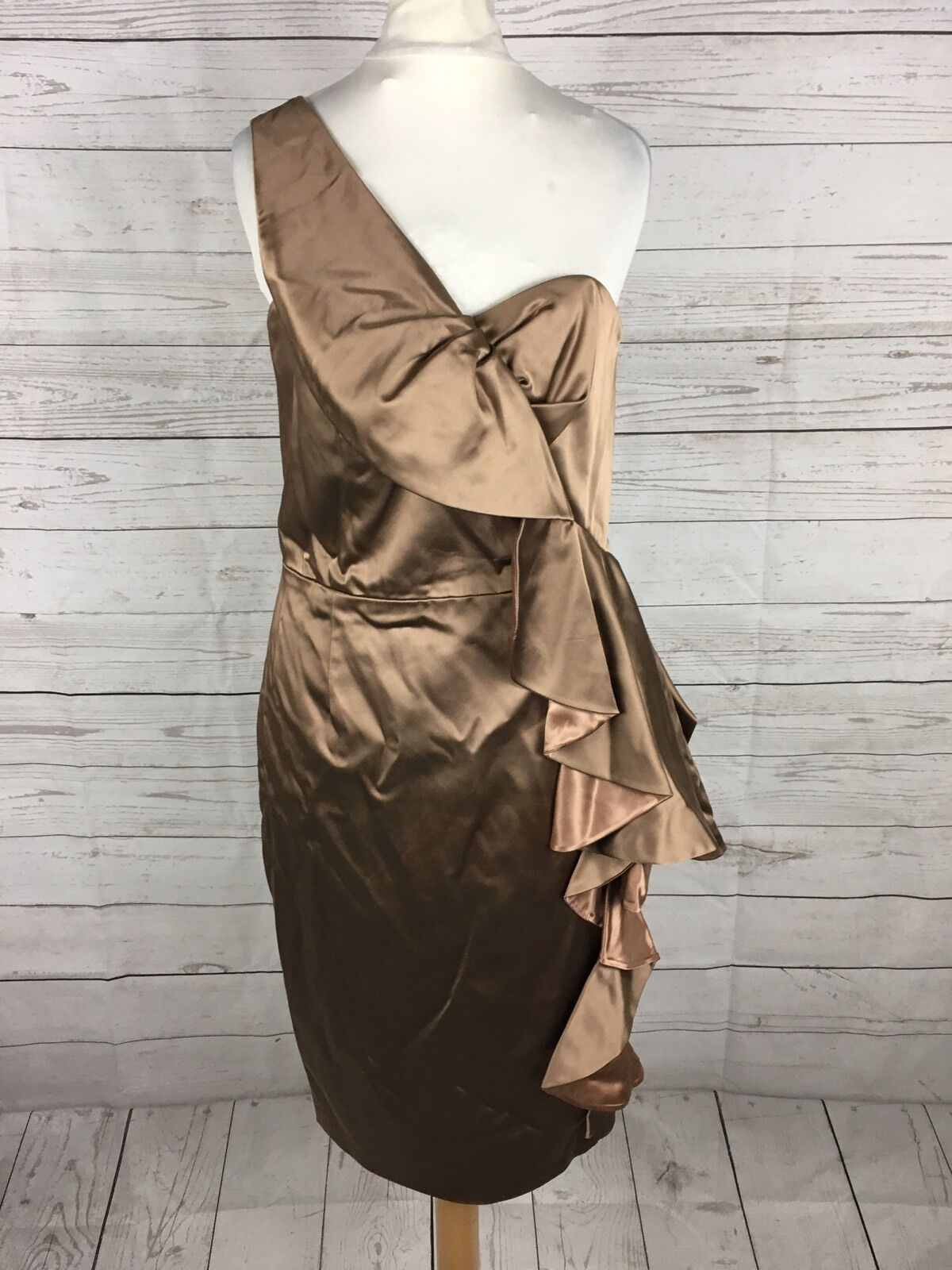 Women's Coast Party Prom Dress - Size UK6 - Brown  - Great Condition