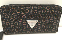 Guess Woman's Wallet Burbank Slg Natural Brown W/g Logo Fit Iphone 6+clutchnew