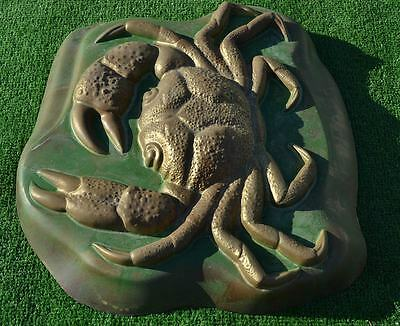 MOLDS for Casting CRAB DECORATIVE STONES Concrete Decor GARDEN PEBBLES #A01