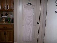 NEW! WOMEN'S XSCAPE WHITE WEDDING DRESS FROM DILLARDS SIZE 8 RETAIL $180