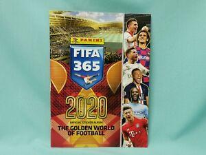 Panini-Fifa-365-2020-Sticker-Sammelalbum-Album-Leeralbum
