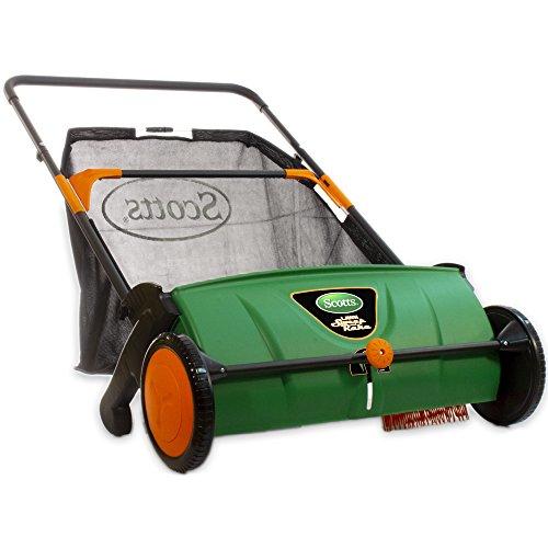 Scotts LSW70026S Push Lawn Sweeper, 26-Inch Sweeping Width,