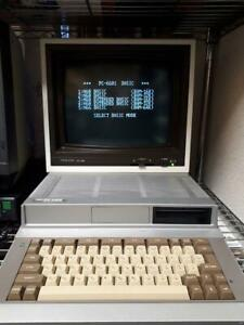 NEC PC-6601 third generation model silver color (for parts)