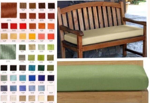 Sunbrella Bench Cushion Outdoor Deck