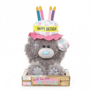 Image Is Loading Me To You Happy Birthday Cake Hat Plush