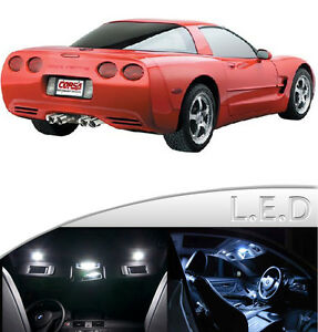 Smdplus Interior Led Dome Trunk Light Bulb Kit For Corvette C5 8pcs Ebay