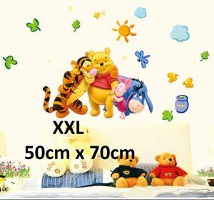 Details zu Winni Pooh Wandtattoo Kinderzimmer Aufkleber Puh Wandsticker  Disney Winnie