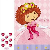 Strawberry Shortcake Berry Princess Large Party Game Poster Birthday Supplies