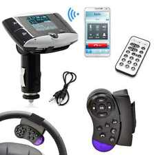 Car MP3 Player FM Transmitter with Steering Wheel Control Desk LCD Display F ¨