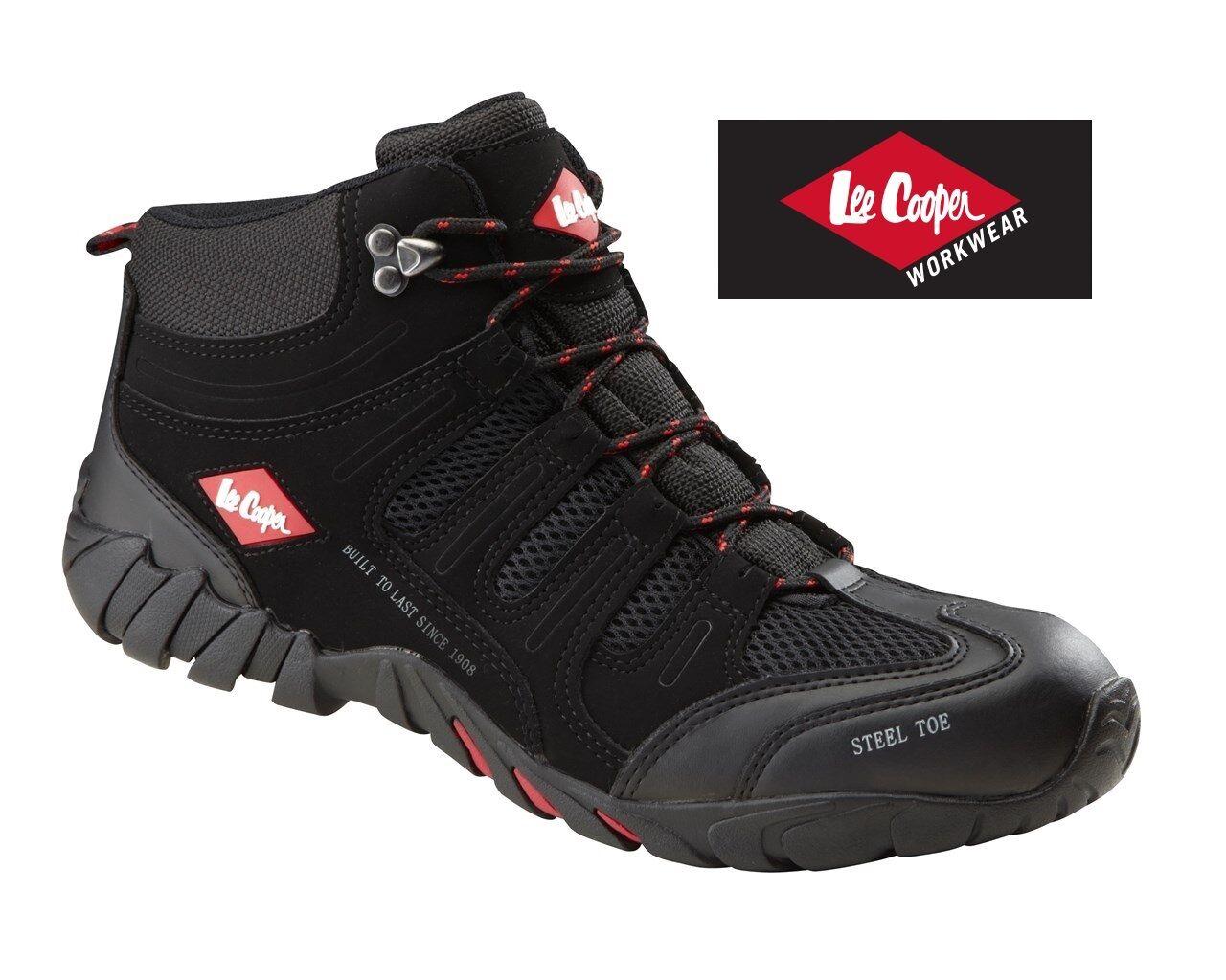 Hombre LEE COOPER puntera Botas de protección con puntera COOPER acero Zapatillas workwear 955b5d