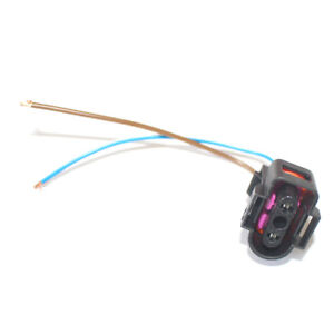 image is loading 2-pin-pigtail-plug-wiring-harness-connector-adapter-