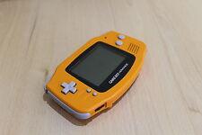 Ltd Edition Orange Game Boy Advance   Nintendo GBA Gameboy