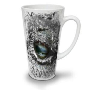 Aligator Eye Wild NEW White Tea Coffee Latte Mug 12 17 oz | Wellcoda