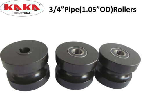 """1.05""""OD TR60 Round Tubing Roller Dies,3//4"""" Pipe Roller for TR60"""