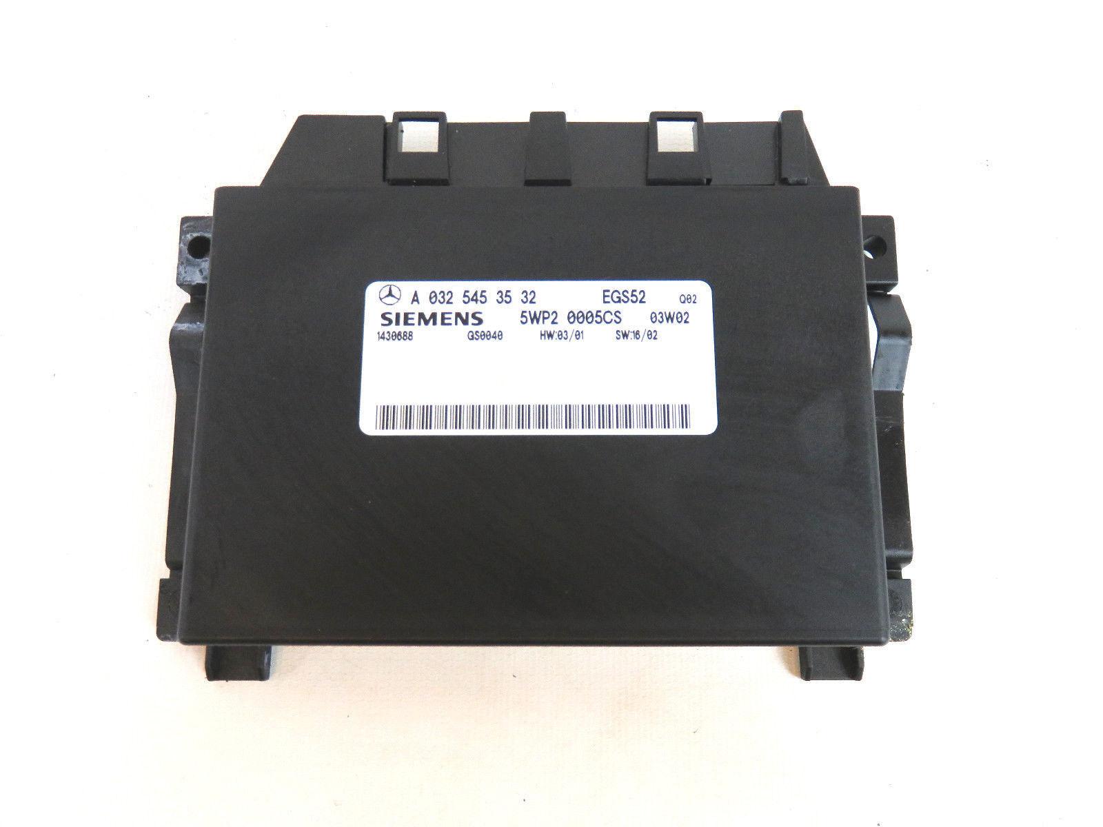 03 06 mercedes benz sl class transmission control module for Mercedes benz transmission control module