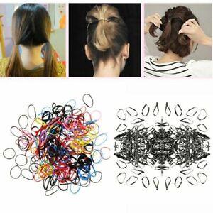 Elastic-Braids-Baby-Girl-Hair-Rope-Tie-Plaits-Ponytail-Holder-Rubber-Hair-Band
