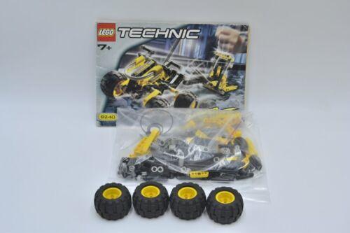 LEGO set 8240 technique Slammer Stunt Bike avec ba technic set with instruction