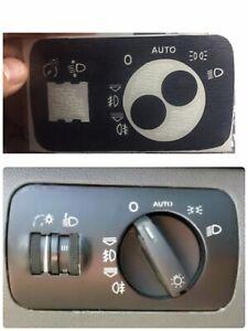 Interruptor-Luz-Auto-AUDI-A3-8L-AUDI-S3-8L-SEAT-Leon-Mk1-Kit-Pegatinas-Stikers